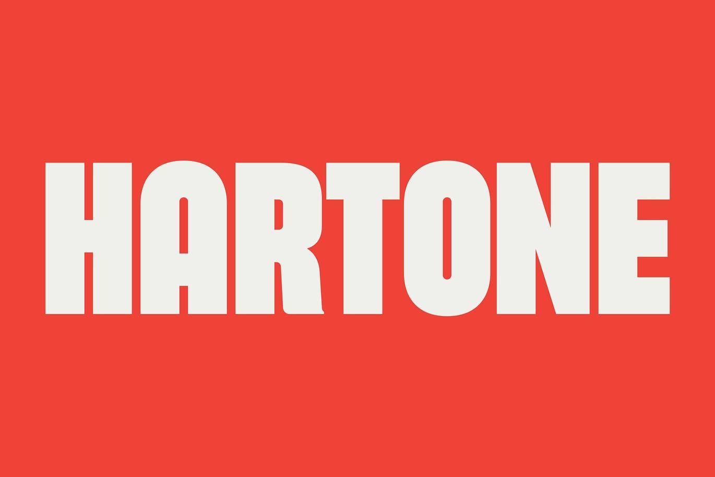 Hartone Bold Display Font -1