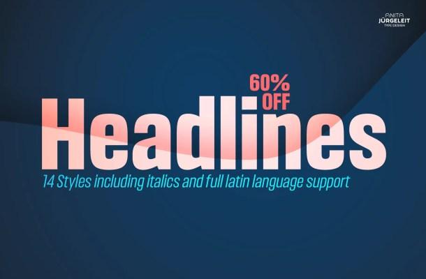 Headlines Font Family