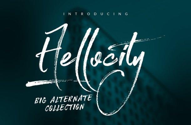 Hellocity Font