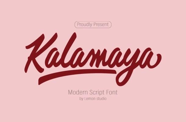 Kalamaya Font