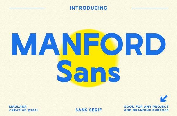 Manford Sans Font