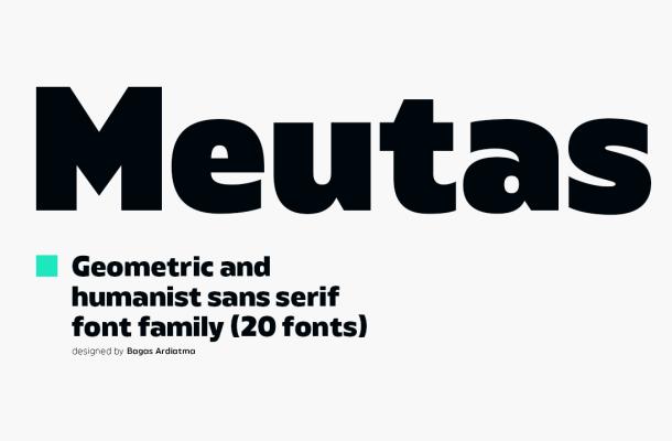 Meutas Font Family