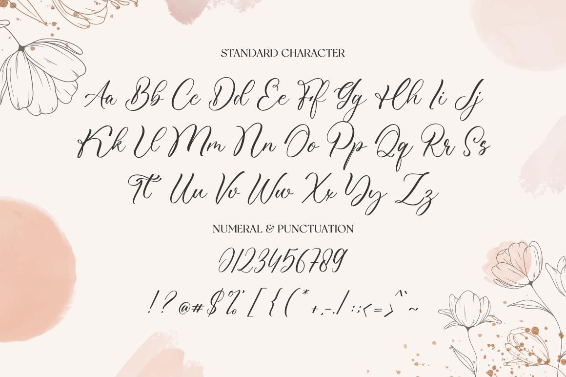 Omeliana Calligraphy Font -3