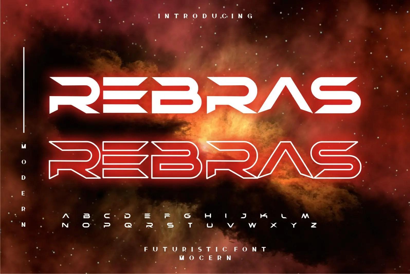 Rebras Display Font -1