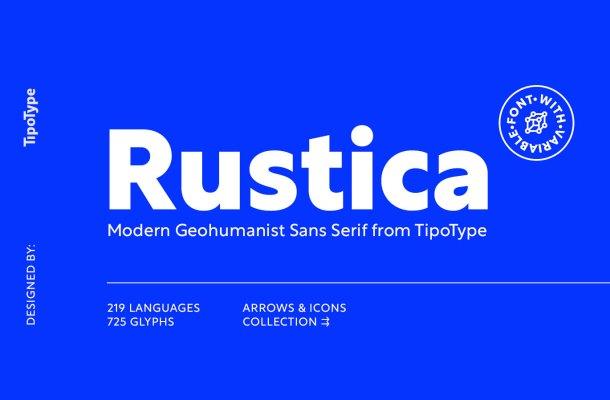 Rustica Font Family