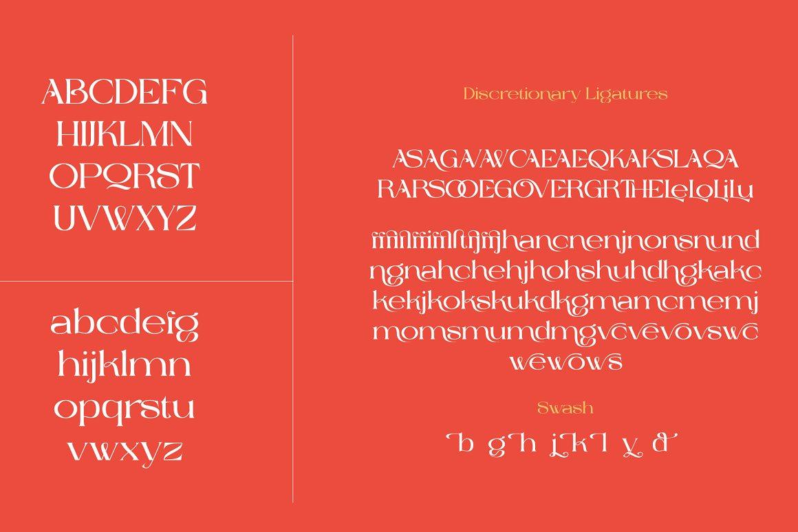 The Cavas Nera Serif Font -3