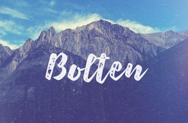 Bolten Font Free