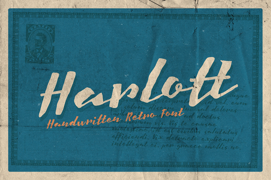 01_harlott-free-font
