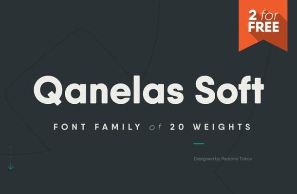 Qanelas Soft Font Free