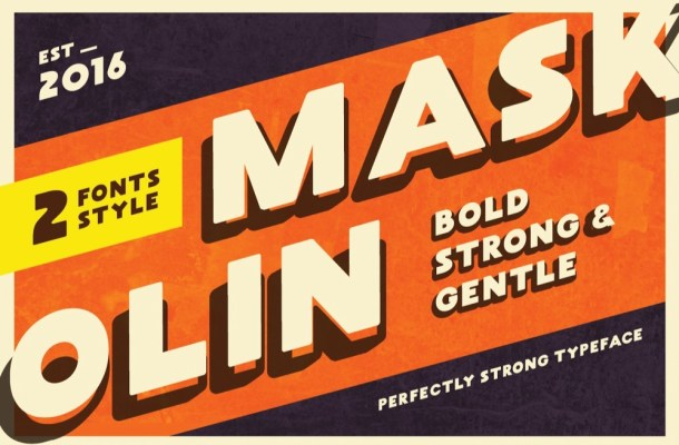MASKOOLIN Font Free