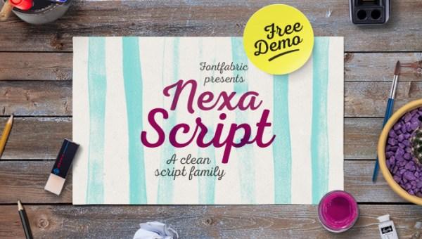 Nexa Script Font Free