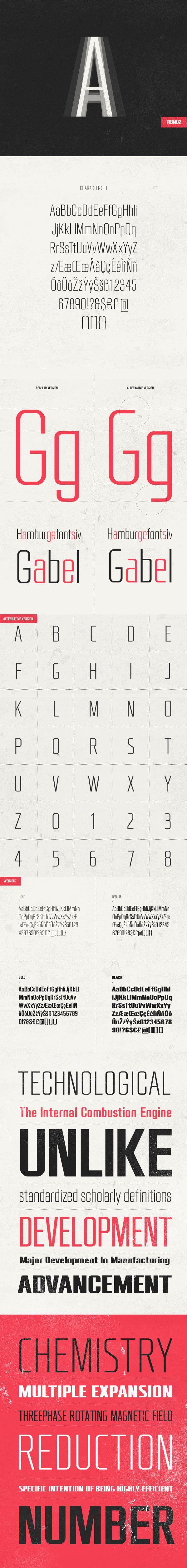 RBNo2 free font - Fontfabric