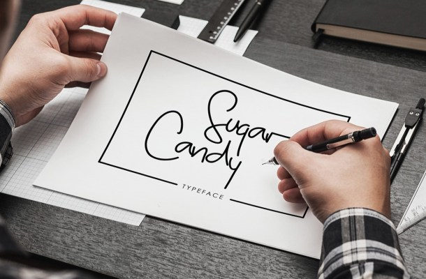 Sugar Candy Font Free