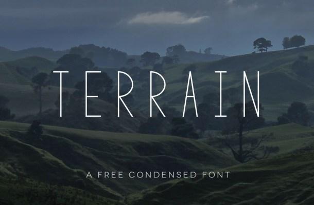 Terrain Font Free