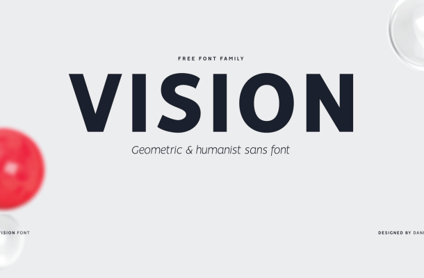 Vision Font Family