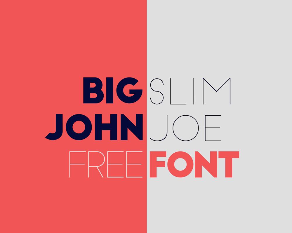 big-john-slim-joe-font