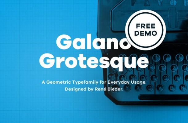 Galano Grotesque Font Free