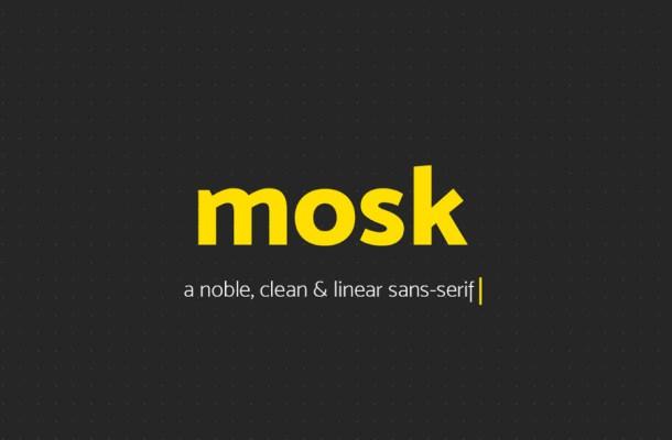Mosk Free Font