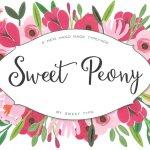 Sweet Peony Font