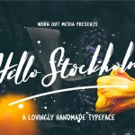 Hello Stockholm Font Free