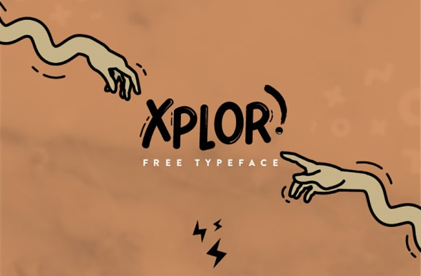 Xplore Typeface Free