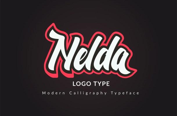 Nelda Typeface