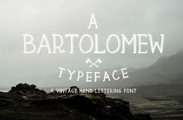 Bartolomew Font Free
