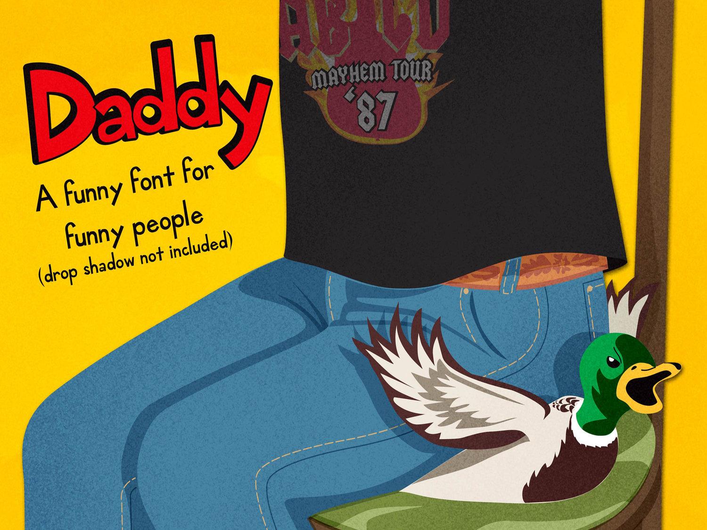 Daddy Font Free - Dafont Free