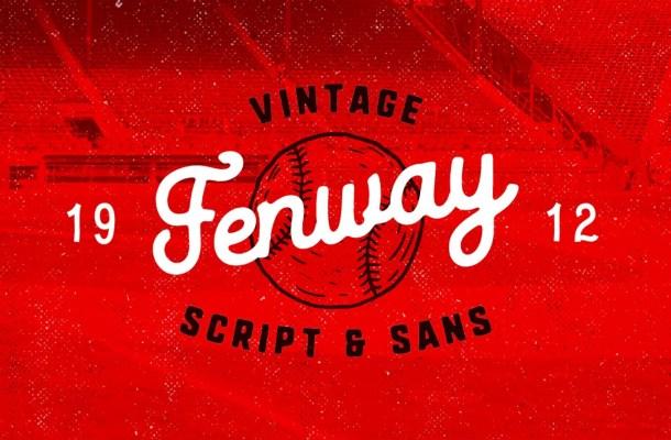 Fenway Script Font