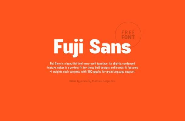 Fuji Sans Font Family
