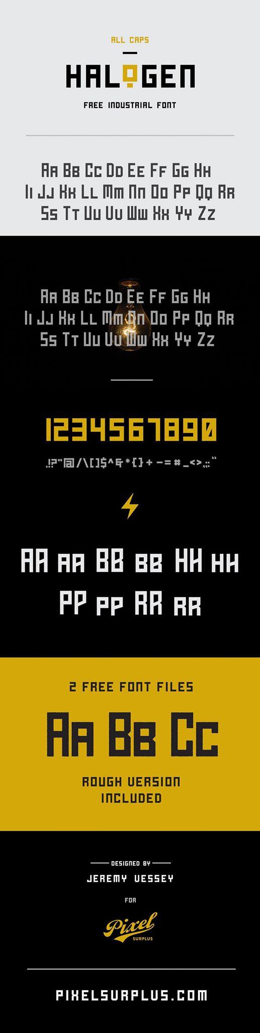 Halogen-Free-Bold-Industrial-Typeface