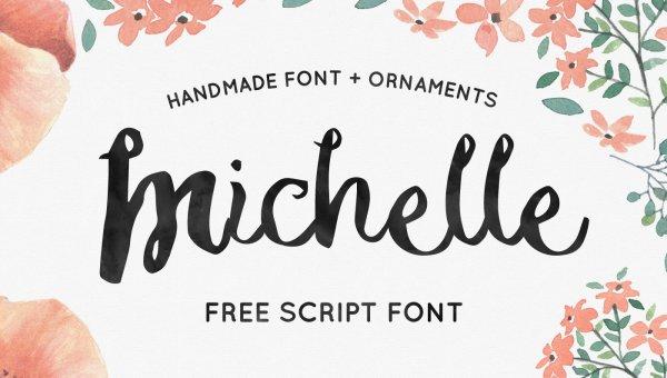 Michelle Font Free
