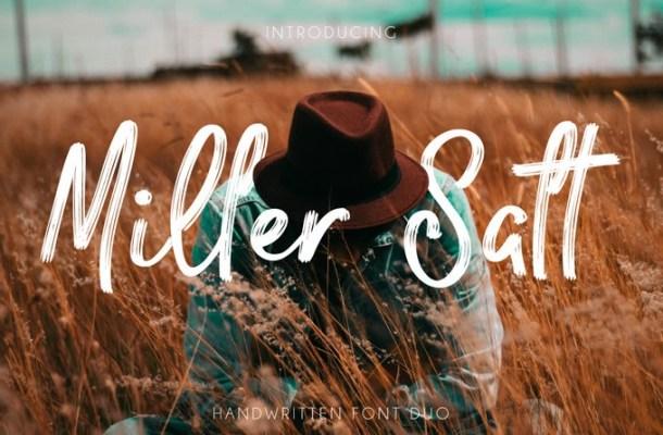 Miller Salt Font Free