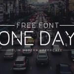One Day Font Free