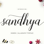 Sandhya Script Font