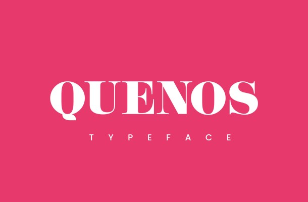 Quenos Serif Font Free