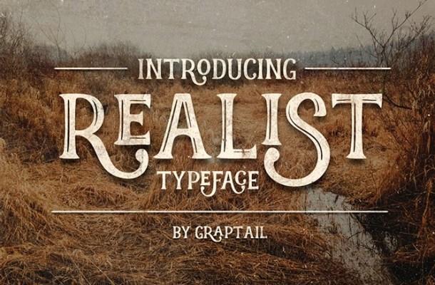 Realist Font