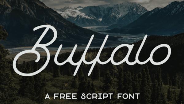 Buffalo Font Free