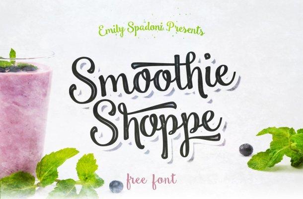 Smoothie Shoppe Font Free