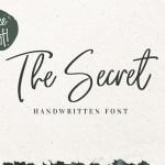 The Secret Font Free