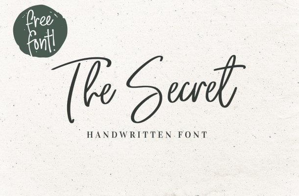 The Secret Font Free