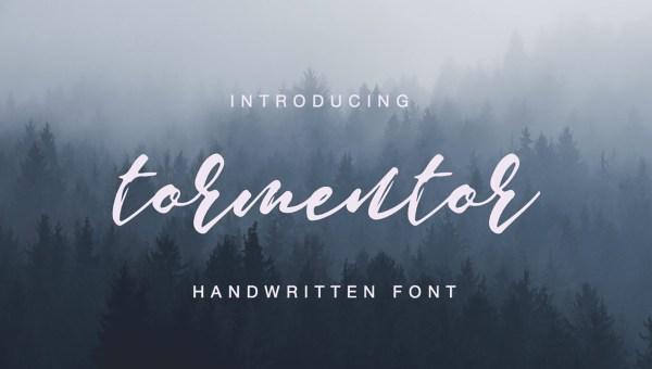 Tormentor Font Free