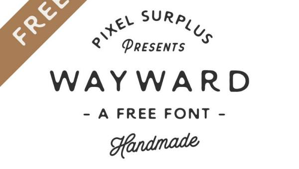 Wayward Font Free