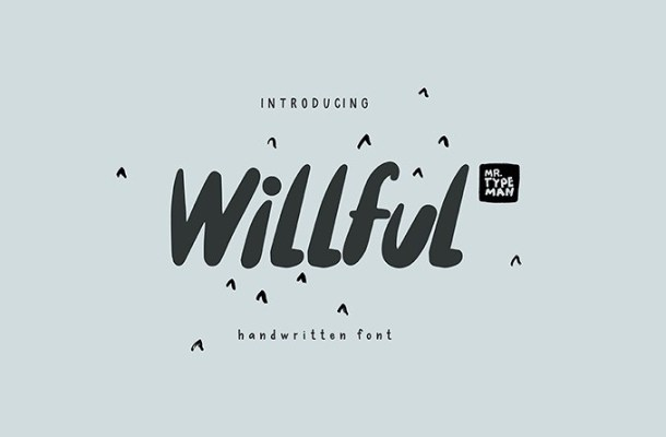 Willful Handwritten Font