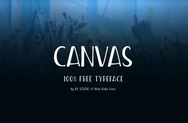 Canvas Font Free