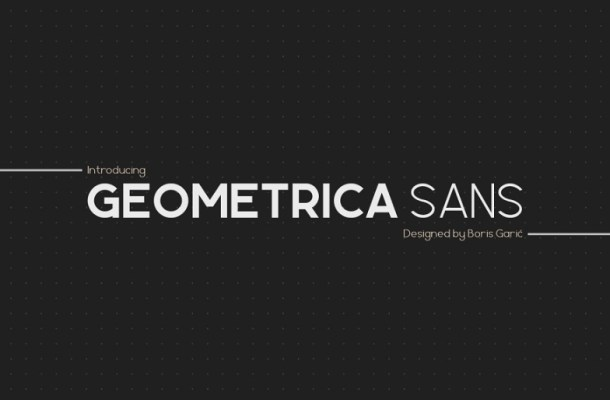 Geometrica Sans Font