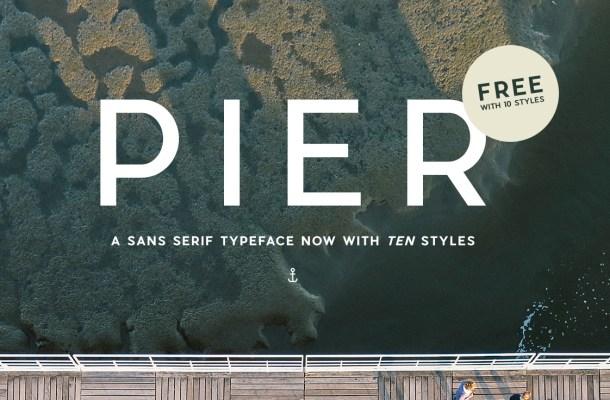 Pier Sans Font Family