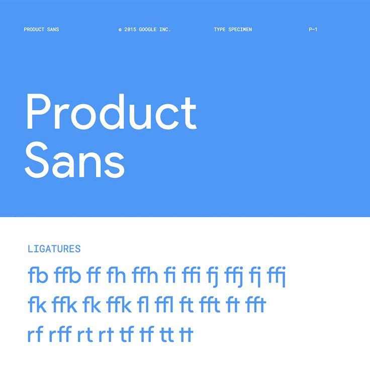 Product Sans Font Family - Dafont Free