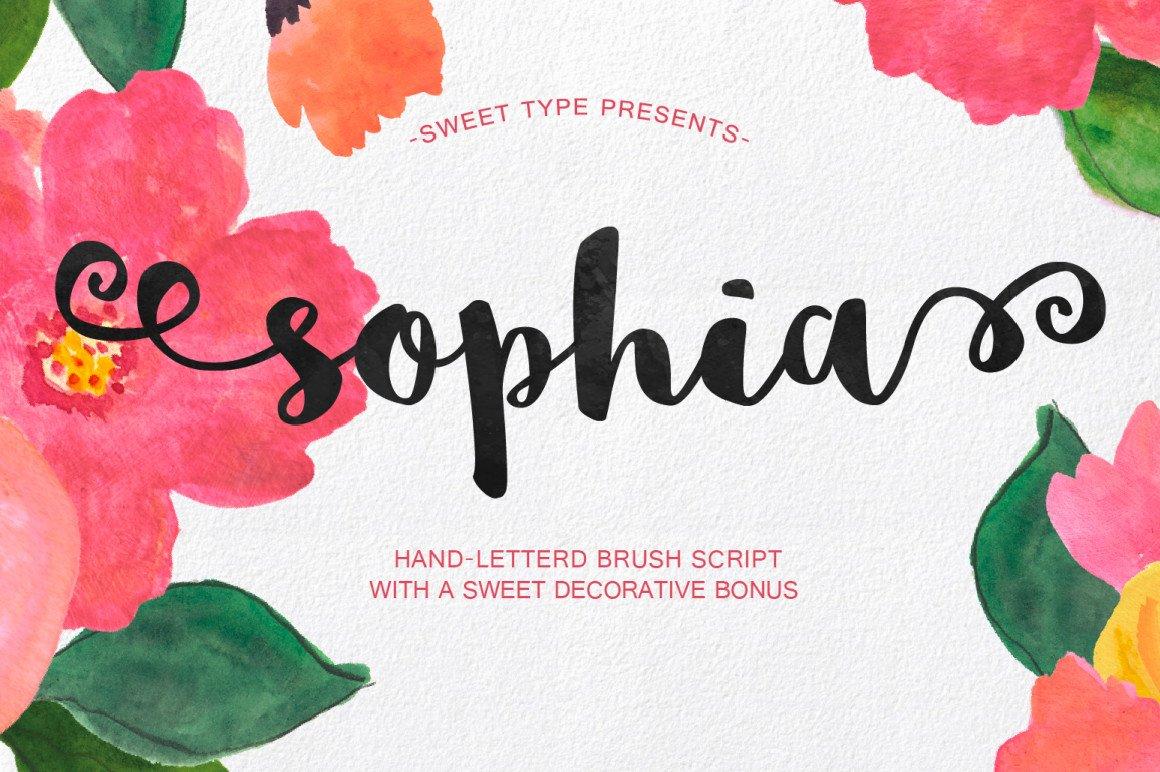 sophia-free-handlettered-brush-script-font