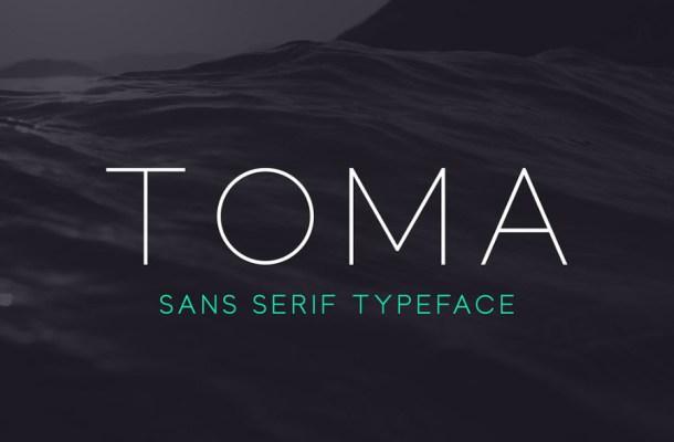 Toma Sans Font Free